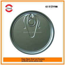 Aluminum easy open oil cap for edibel oil