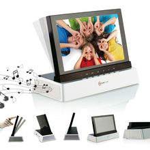 "7""TFT Screen stereo digital photo frame"