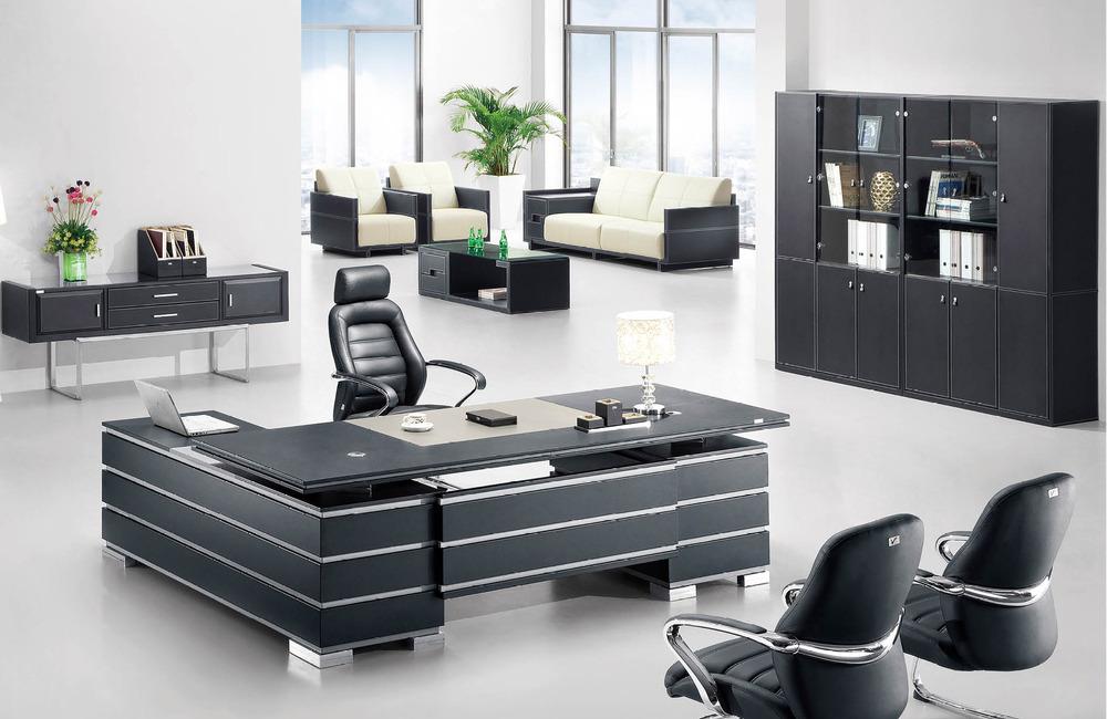 Modern Executive Office Desk : ... design modern leather boss office table/wooden executive office desk