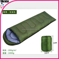 Wholesale envelope type outdoor camping in the adult camp warm sleep bags