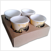 High quality take away for coffee cup holder,cup tray,paper cup holder