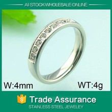 diameter stainless steel promise rings for wholesale