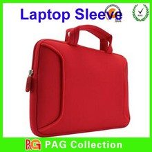 "2014 Beautiful Design 15.6"" custom print laptop sleeve/neoprene laptop sleeve with handle"