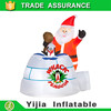 China new innovative products funny christmas toy 1.5m inflatable santa claus whack penguin yj1020