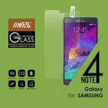 2015 Hot Selling 9H 2.5D 0.3mm Ultra Slim Premium Tempered Glass Screen Protector for Note 4