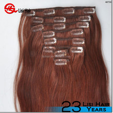 100% Human Hair New Products Made In China Clip In Real Hair Extension UK
