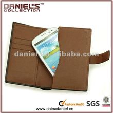 2012 Hot selling leather pouch for samsung galaxy s3 i9300