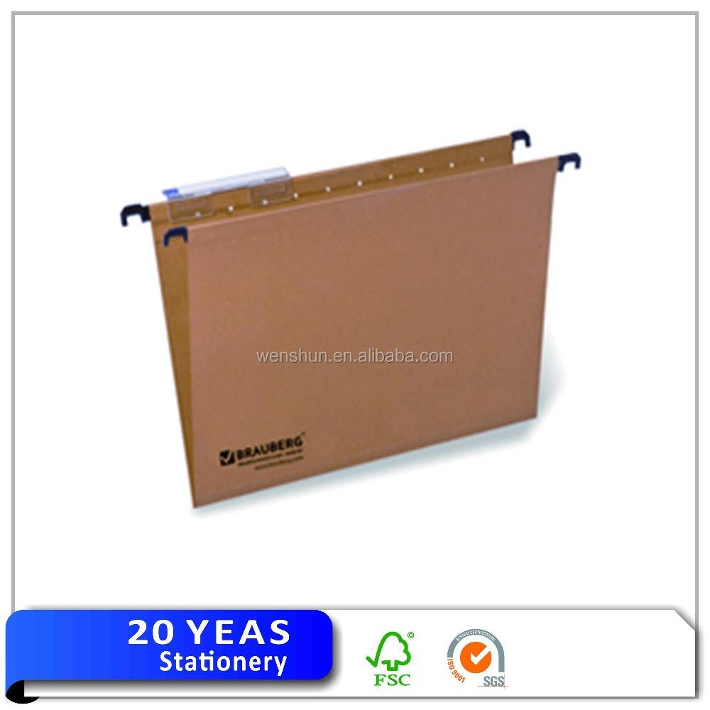 Manufacturer office metal filling rack paper hanging file folder clips
