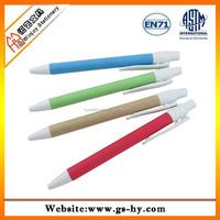 ECO friendly fancy paper inside ball point pen