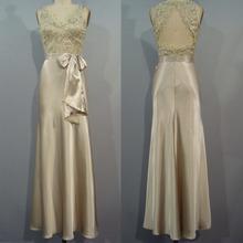 Cw1046 luxe V neck perles ci - dessous du genou robes