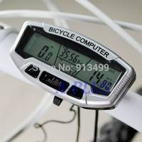 2014 New Digital LCD Blue Backlight Bicycle Speedometer Odometer Cycling Bike Computer SV007237