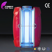 high quality vertical tanning bed,vertical solarium for skin care