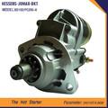 hecho en china buena calidad 24v 6d102 motor de arranque eléctrico