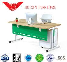 High gloss office furniture desk.