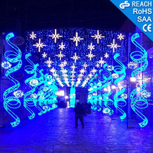 Outdoor Waterproof LED Christmas Light Street Decoration LED Arch Motif Lights