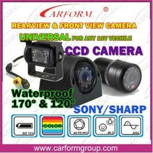 Universal car rearview camera for CCD camera
