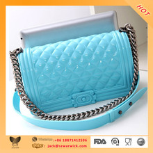 custom made design rubber pouch bags with silicone factory
