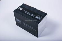 Printing corrugated cartridge shipping box