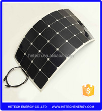 high efficiency solar flexible 100w/ fleixble pv solar panel 100w/ thin film flex soalr