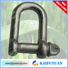 Commercial Black Dee Shackle Same size diameter pin with body