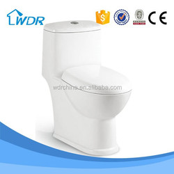 Ceramic sanitary ware Energy Saving solid surface one piece toilet seat