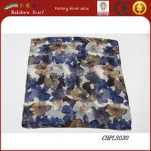 2015 lady flower painting designer scarf muslim hijab scarf wholesale china