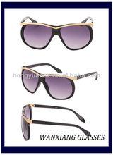 Shenzhen Manufacture Designer Acetate Quality Fashion Glasses Of Sun