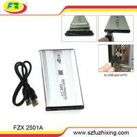 2.5 Inch USB 2.0 SATA Serial ATA external HDD Hard Disk Drive Enclosure