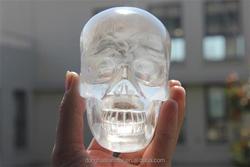 Wholesale Rock Quartz Crystal Skull For Sale For Decoration