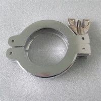 aluminum vacuum clamp KF40 for vacuum pipe system,winged clamps,quick connection
