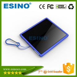 portable power bank solar panel 5000mah solar power bank/ waterproof power bank