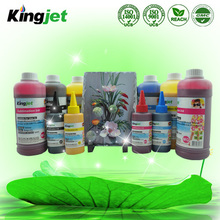 China Hot! Sublimation ink for Epson DX4/5/6/7 printhead on ceramic, glass, metal, wood, textile, PVC
