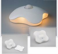 Night Light Four Leaf Clover Lamps Motion Sensor bedroom NightLight PIR Intelligent LED Human Body Motion Induction Lamp