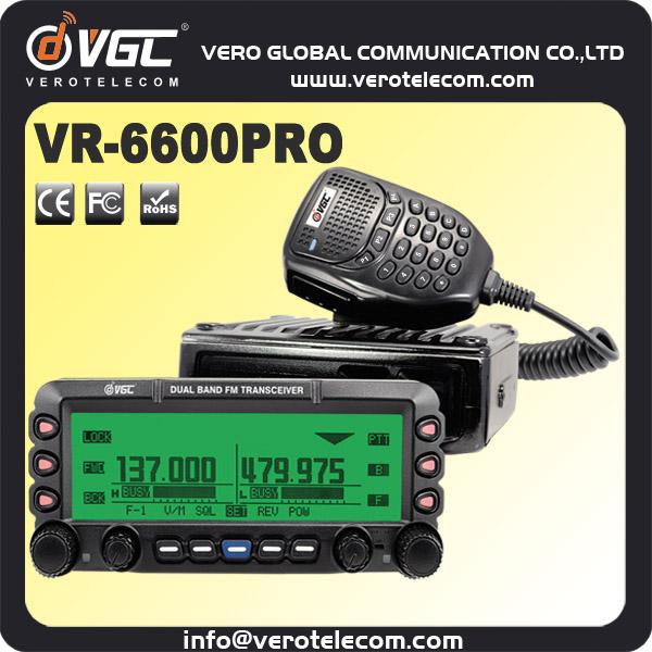 50w ham radios mobil brouilleur radio talkie walkie longue port 233 e 30 km vr 6600p interphone id