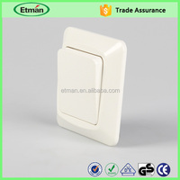 Cover plate 84*84mm switch electric wall switch 4 position rotary switch