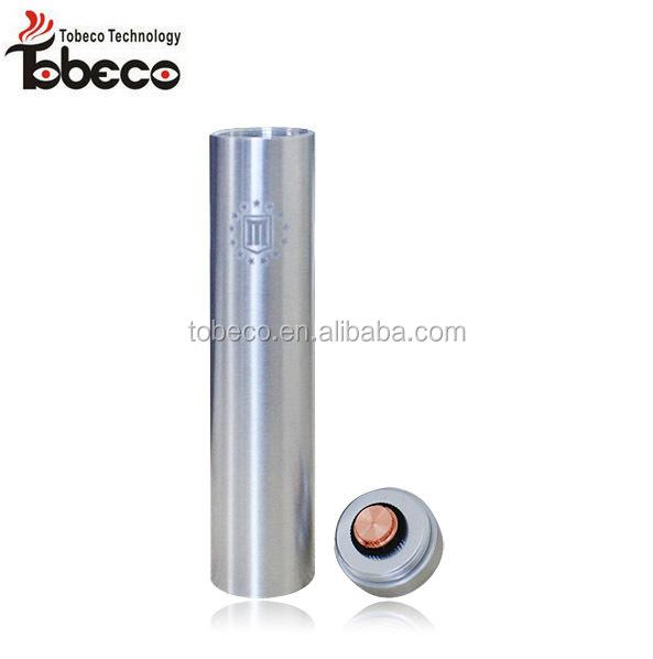 tobeco aluminum/copper full mechanical colored fuhattan mod/colonial mod