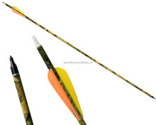 hot selling arrows camo 400 spine archery arrows carbon with target points