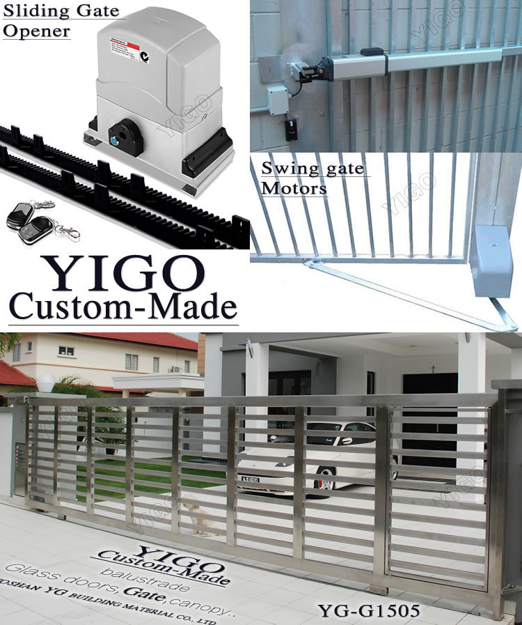 New Design Factory Entrance Gate With Ce Certificate - Buy Factory ...