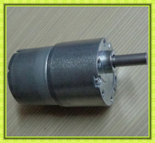 metal gears compact high torque 37mm gearbox 6mm shaft reversible low rpm 24volt dc brush motor geared