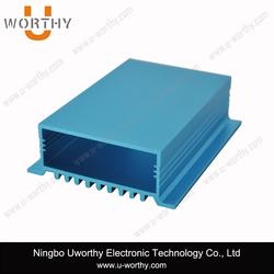 Split Body Type Custom Length Aluminum HDD Enclosure / Anod Aluminum Box / Extrud Aluminum Heat sinking Cases 5.7'' x 2.67''