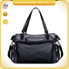 Alibaba China wholesale travel bag soft PU leather handbag convenient carry on weekend leisure bag