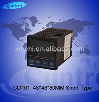 cd101 temperature pid controller,48*48*80mm,double Intelligent display,one or two alarm temperature contoller,SSR relay output