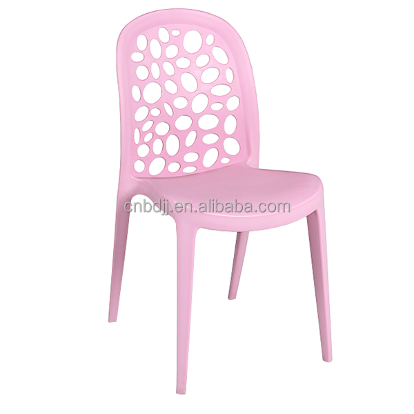 Modern Design Replica Home Furniture Trendy Continued Hot Sale Pp Plastic Dining Chair Stackable