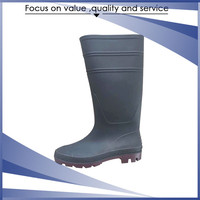 New Design rubber cheap plastic boots and pvc custom