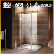 New Design Fashionable 10mm Frameless Shower Enclosure 1200x800 mm EX-704