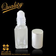 International cute silver 6ml roll on bottle