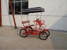 steel forge quadricycle surrey bike