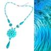 gemstone jewelry wholesale guangzhou good luck fashion turquoise gemstone jewelry