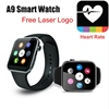 2015 New Smartwatch A9 Bluetooth for Apple iPhone & Samsung Android Phone the best smart watches