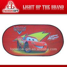 Promoción de productos Logo protección ventanilla del coche impresa sol